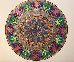 ColorIt Mandalas Volume 2 Colorist: Jennifer Baker #adultcoloring #coloringforadults #mandalas #mandalastocolor