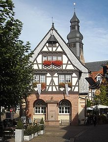 Alte Rathaus, Hofheim Am Taunus, now a wonderful Teehaus.