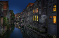 """The Back Alley - Typical scenery in the oldest part of my hometown Dordrecht. This is the other side of one of the main shopping streets here and I call it """" the back alley"""" . Dordrecht is the oldest city of the Netherlands and has a rich history and culture."""