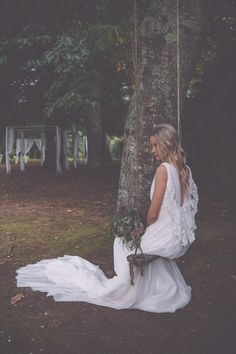 Bouret 2015 Bridal Collection; A dream for the Boho, Ethereal and Vintage Bride. Photos by Melissa Adams