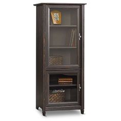 Cabinet Wood Storage Paint Vintage Storage Cabinet w/ Shelves storage cabinet