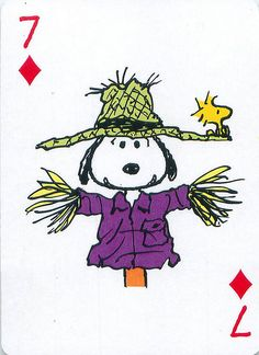 Peanuts Great Pumpkin Playing Cards