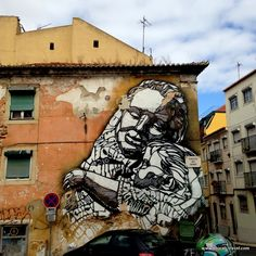 C215 street art Lisbon || A comprehensive street art guide of Lisbon, Portugal - Read it here: http://www.blocal-travel.com/street-art/lisbon-street-art-guide/ #streetart jd