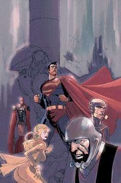Superman: Birthright #9 cover by Leinil Yu