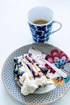 Blåbärstårta med lemon curd (glutenfri, sockerfri, low carb) - 56kilo.se - Recept, inspiration och livets goda