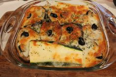 Nydelig sunn alternativ lasagne til helgekosen