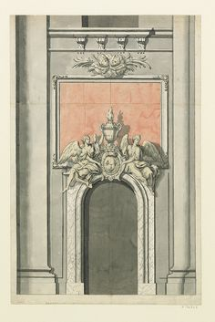 Eglise Saint-Paul-Saint-Louis - autre proposition pour le monument du coeur des Condé, 1709