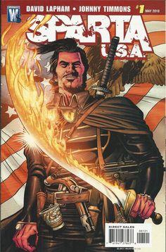 Sparta USA comic issue 1