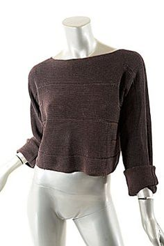 068a684b3b Sarah Pacini Cotton Blend Sweater Sarah Pacini