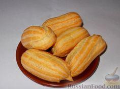 Фото приготовления рецепта: Пирожное эклер - шаг №8
