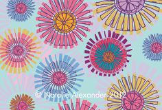 Rosie Simons Graphic and Surface Design: Feature Friday - Natalie Alexander http://rosiesimons.blogspot.co.uk