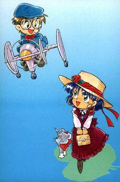 Nadia The Secret of Blue Water #90s #anime #art