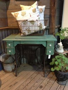 I have one at home but the color caught my eye...might just repaint mine!