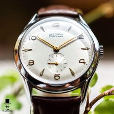 Beautiful vintage Delbana watch for your wrist! Check the other pictures in the listing area, and do not forget to like the watch if you think it is nice. Dark Brown Leather, Vintage Watches, Omega Watch, Things To Think About, Forget, Nice, Check, Pictures, Etsy