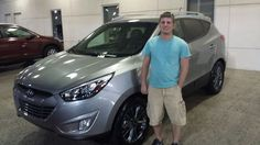 Congrats from all us at Findlay Honda Henderson to Adam on his like new 2015 Hyundai Tucson! Thanks for the opportunity to earn your business, look forward to seeing you soon to get your wife a new vehicle as well!
