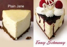 Basic cheesecake using sour cream and flour