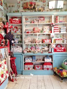 Cath Kidston | London  I loved this shop in portobello markets