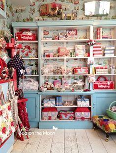 Cath Kidston | London  I loved this shop in portobello markets