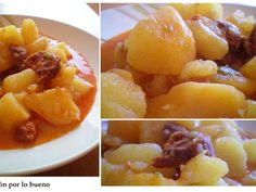 Receta Patatas a la riojana, para Yneus - Petitchef
