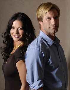 Aaron Eckhart & Catherine Zeta-Jones in No Reservations
