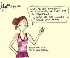 #Lunes me tenés podrida! Empezá a ponerle onda eh? Siento que vivo el #DiaDeLaMarmota #Flor