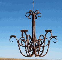 Looking for a rustic chandelier for your home or garden? Try A Rustic Garden for some nice pieces! I bought a chandelier for my outdoor pergola. It is still one of my favorite pieces!