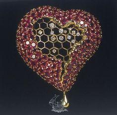 Salvador Dali  The Honeycomb Heart