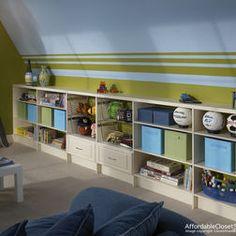 slant wall nursery - Google Search