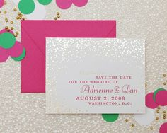 New year. Newlywed. | Cheree Berry Paper... it doesn't have to be New Year's to have sparkle