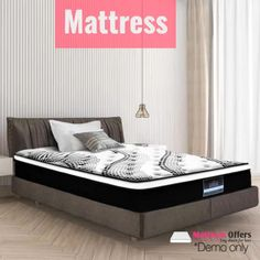 Afterpay Mattress – Turn your bedroom into a lavish sleep haven  🛍LAY DOWN FOR LESS At #MATTRESSOFFERS - FOR YOUR BEAUTIFUL HOUSE🛍   We definitely spend approximately one-third of our lives in bed, and that's one reason for choosing the right mattress for you. It's one of the most essential decisions you'll need to make for a good night's sleep. Besides, your overall health and well-being are highly affected when you sleep on a low-quality mattress.  #afterpaymattress #shophumm When You Sleep, Memory Foam, Beautiful Homes, Mattress, Third, Night, Bedroom, Health, House
