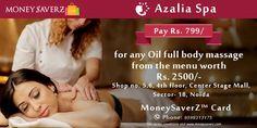 #AzaliaSpa #offers on your #moneysaverz cards