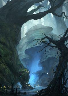 Enchanted forest by gerezon.deviantart.com on @deviantART