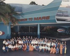 November 2, 1992: At Disneyland, the Mission to Mars attraction in Tomorrowland, closes. The space will remain unused until it officially reopens as a restaurant, Redd Rockett's Pizza Port in Disneyland's New Tomorrowland on May 22, 1998.