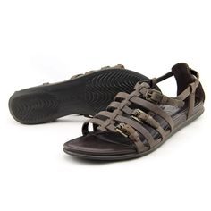 Ecco Touch sandal Women US 8 Brown Sandals Pre Owned  1637 #Ecco #Strappy