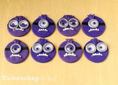 Bad minions / crazy minions / purple minions by Taleenshop on Etsy