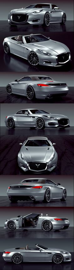 Invisium Concept Car. with Z4 on the back, and jaguar F grill one the front. isn't it? - Leave a like & Follow!