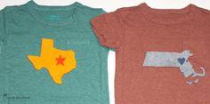 Cute state shirts!