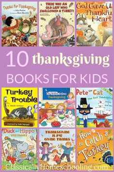 10 Delightful Thanksgiving Books Kids Love