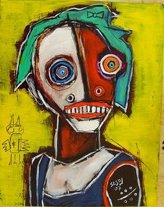 Matt Sesow (1966) Geboren in Omaha, Nebraska. Hij begon met het maken van kunst in 1993. Toen hij nog een kind was werd zijn hand geamputeerd.   Hij vertelt het verhaal van zijn trauma in zijn schilderijen. Konijnen, vogels, theekopjes, en tanden omringd door heldere rode lippen helpen om de gedachten en ervaringen van Matt Sesow vertellen. Hij heeft geëxposeerd in galeries over de hele wereld en wordt verzameld door veel outsider kunstverzamelaars.