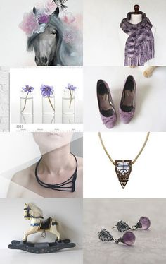 Lilac Theme by ILONA on Etsy--Pinned with TreasuryPin.com