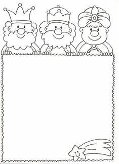 Výsledok vyhľadávania obrázkov pre dopyt tres reis per pintar Cute Christmas Cards, Christmas Arts And Crafts, Preschool Christmas, Xmas Crafts, Christmas Colors, Christmas Projects, Kids Christmas, Colouring Pages, Coloring Pages For Kids