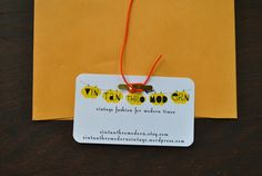 Branding Your Etsy Shop -  DIY Business Cards, Price Tags, and Packaging