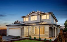 Modern Classic Weatherboard Homes   Scyon Wall Cladding And Floors House Cladding, Wall Cladding, Facade House, House Facades, Cottage Floor Plans, Small House Plans, Hamptons Decor, Hamptons Style Homes, Hamptons House