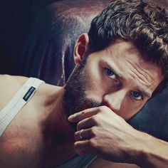 That eyes, grrr - Jamie Dornan