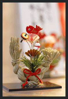 Traditional Japanese New Year's Decoration