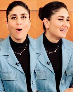 Image may contain: one or more people Fashion Magazine Cover, Kareena Kapoor Khan, Mix Match, Fashion Outfits, Womens Fashion, Makeup Looks, Bollywood, Celebs, Actresses