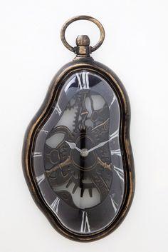 Nástěnné hodiny Flow Antique / wall clock
