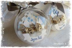 Boules de Noël 4enscrap