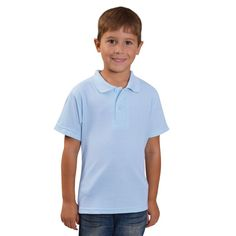 Show details for Youth Classic Pique Knit Polo (cm) - End Of Range Golfers, Polo Shirt, Youth, Range, Knitting, Classic, Mens Tops, Shirts, Fashion