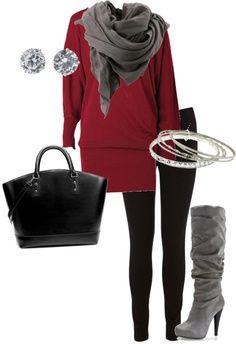 No Inverno, as pessoas usam botas, roupas  quentes e cachecol para se protegerem do frio.